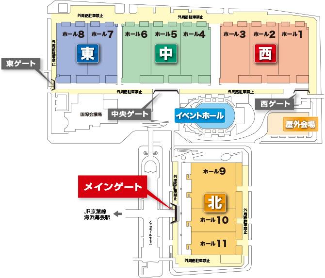 千葉県千葉市美浜区中瀬2丁目6 - Yahoo!地図