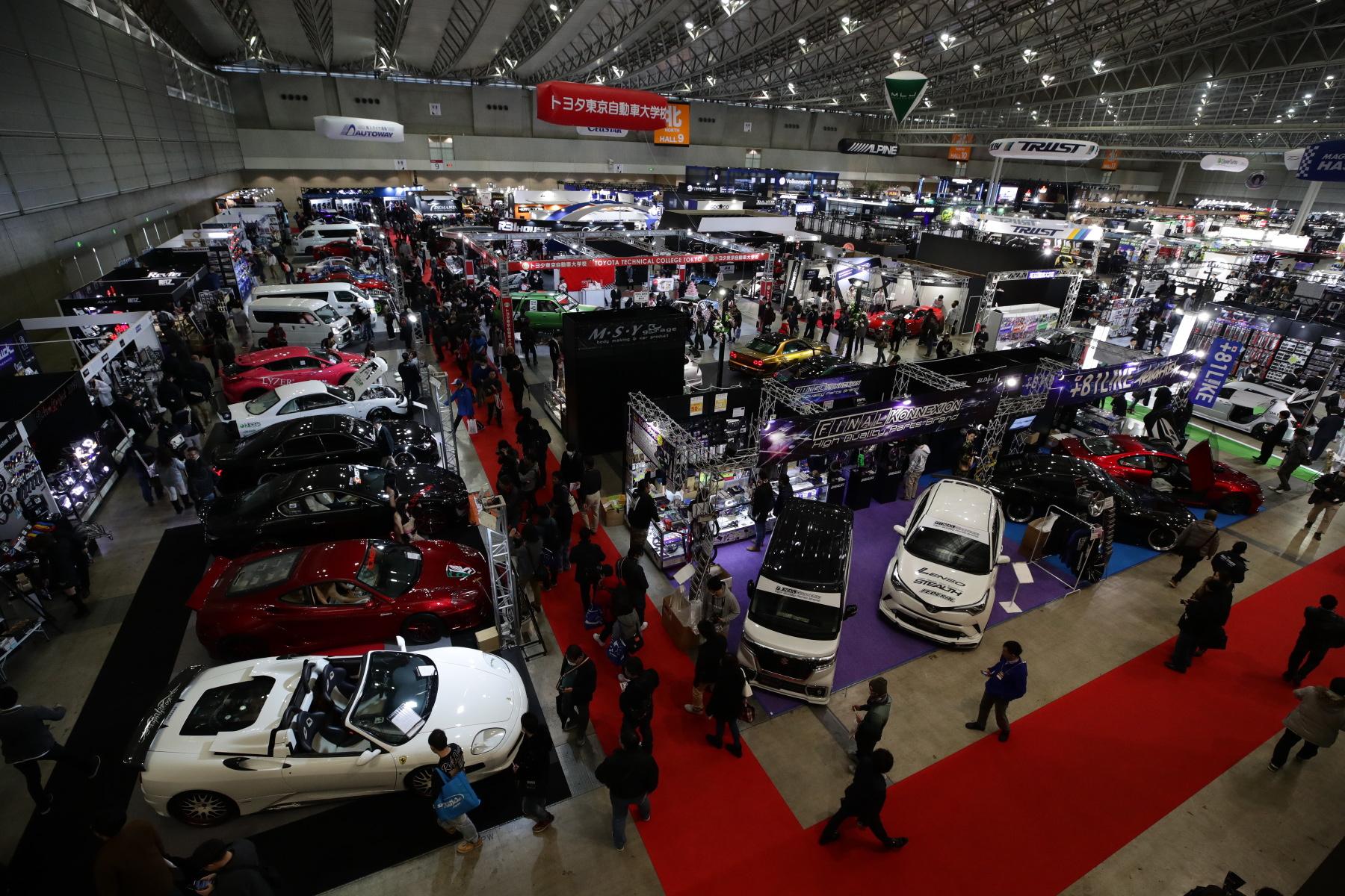 2018 01 13 tokyo auto salon 2018 for Salon auto 2018